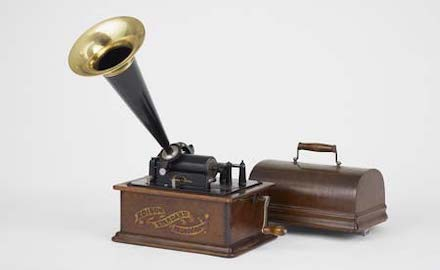 エジソン 蓄音機