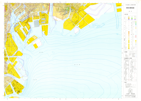 1:25,000 scale Land Condition Map (Southeastern Part of Tokyo)