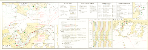 Small Craft Charts - Seto Naikai Series, No. 4 H-154 Kaminoseki to Wakamatu - Back