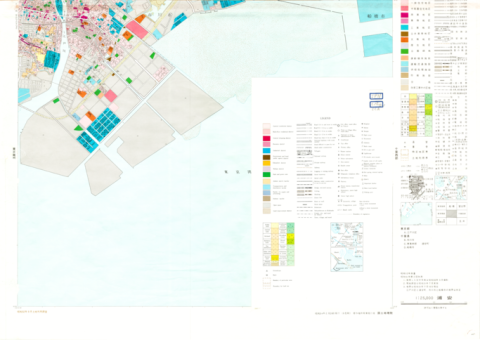 1:25,000 scale Land Use Map (Urayasu)