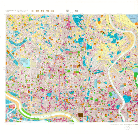 1:25,000 scale Land Use Map (Soka)