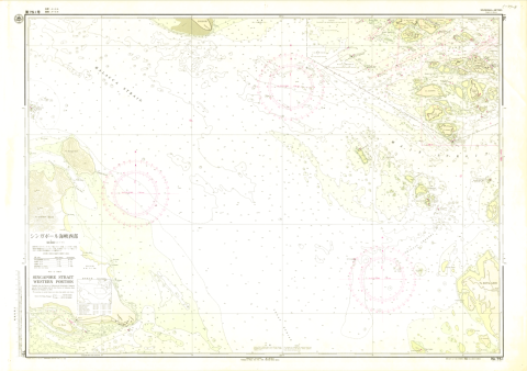 Chart No. 751. Singapore Strait, Western Portion. 1:50,000 (Lat. 1°15')